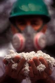 Asbest in de spouwmuren